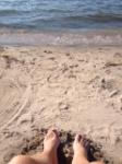 Write On The Beach