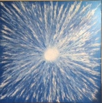 Blue Starburst by Debbie McClure